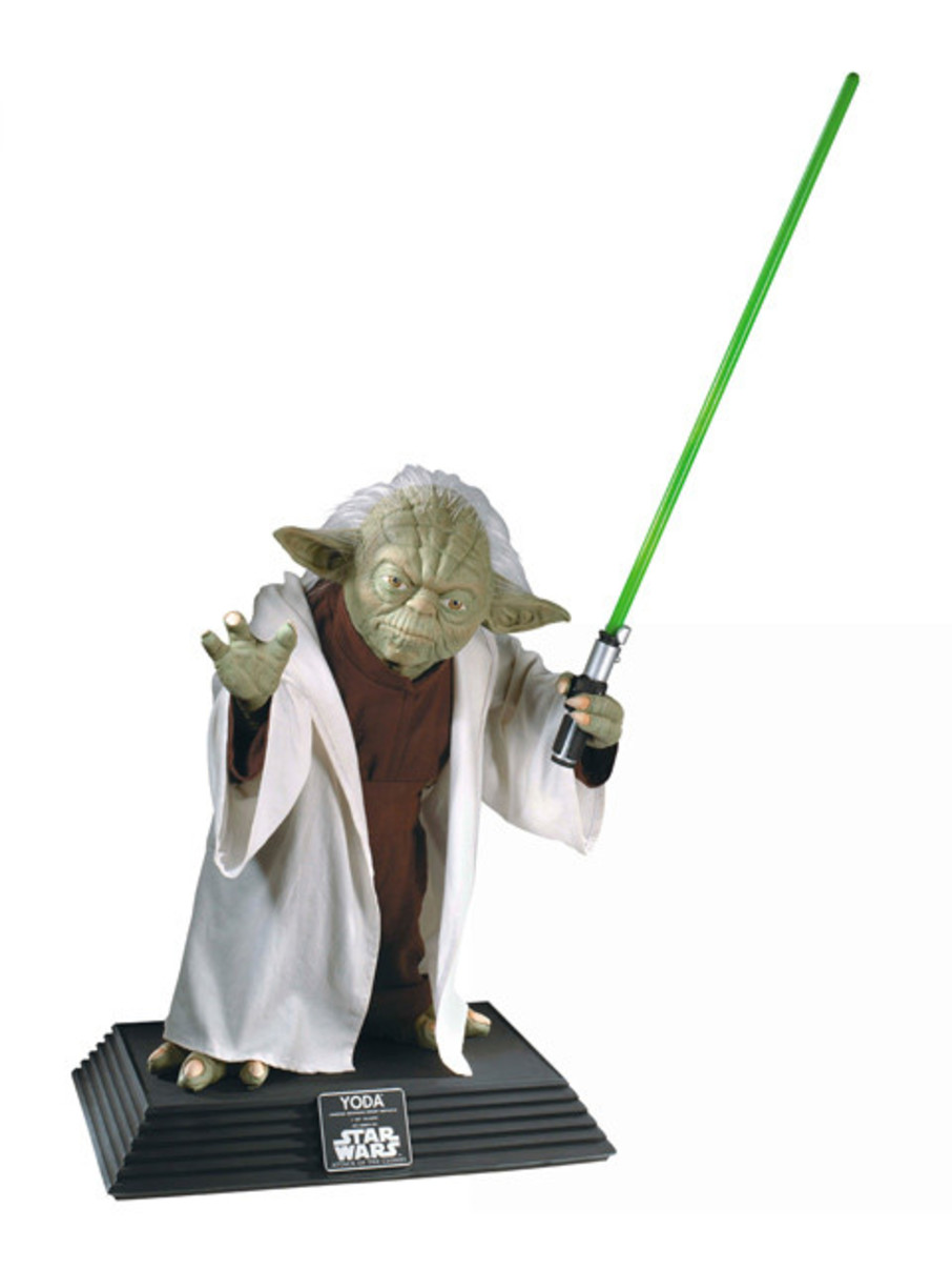 View larger image of Star Wars Yoda Statue