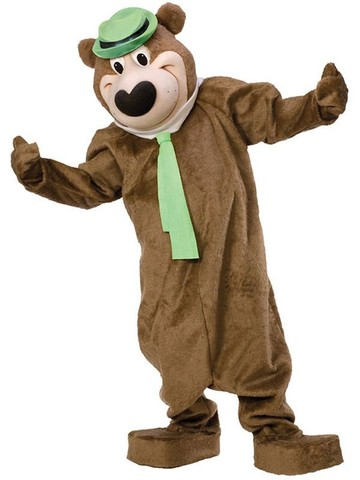Yogi The Bear Mascot Costume