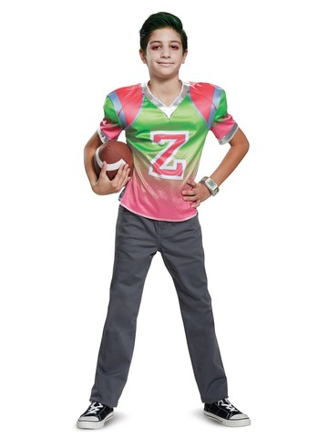 Z-O-M-B-I-E-S: Zed Football Jersey Classic Costume for Boys