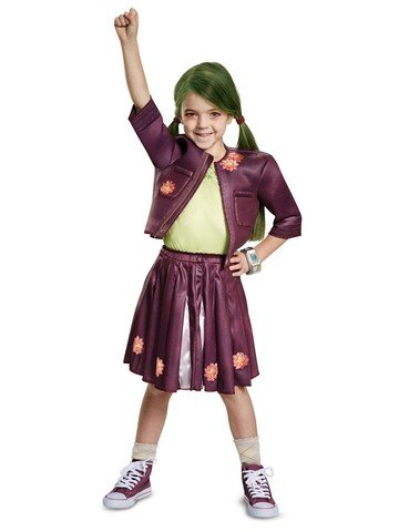 Z-O-M-B-I-E-S: Zoey Cheerleading Outfit Classic Costume for Girls