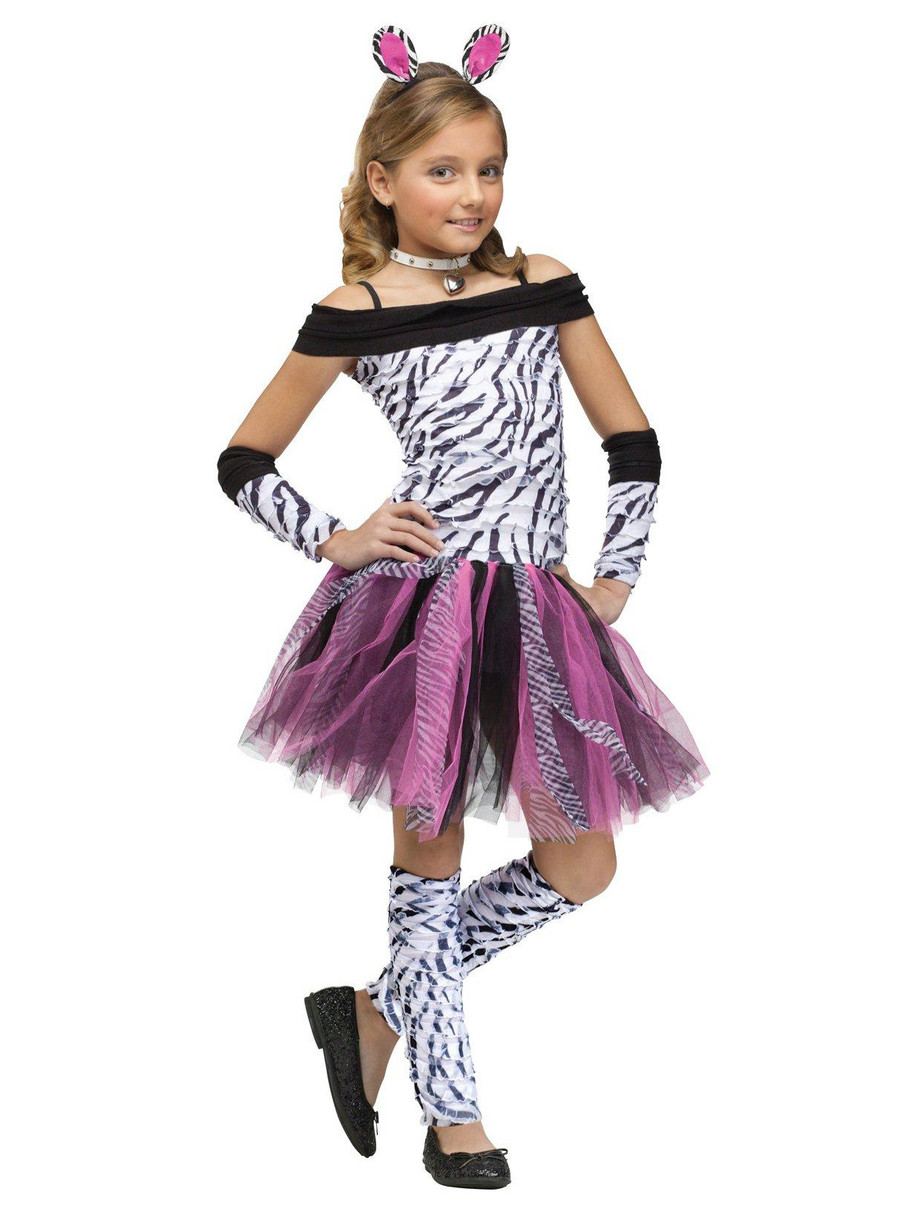 View larger image of Zebra Child Costume