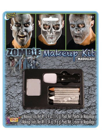 Zombie Makeup Kit for Teens and Adults