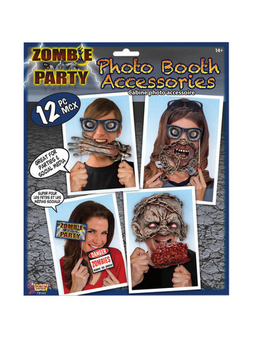 Zombie Party Photo Booth Props