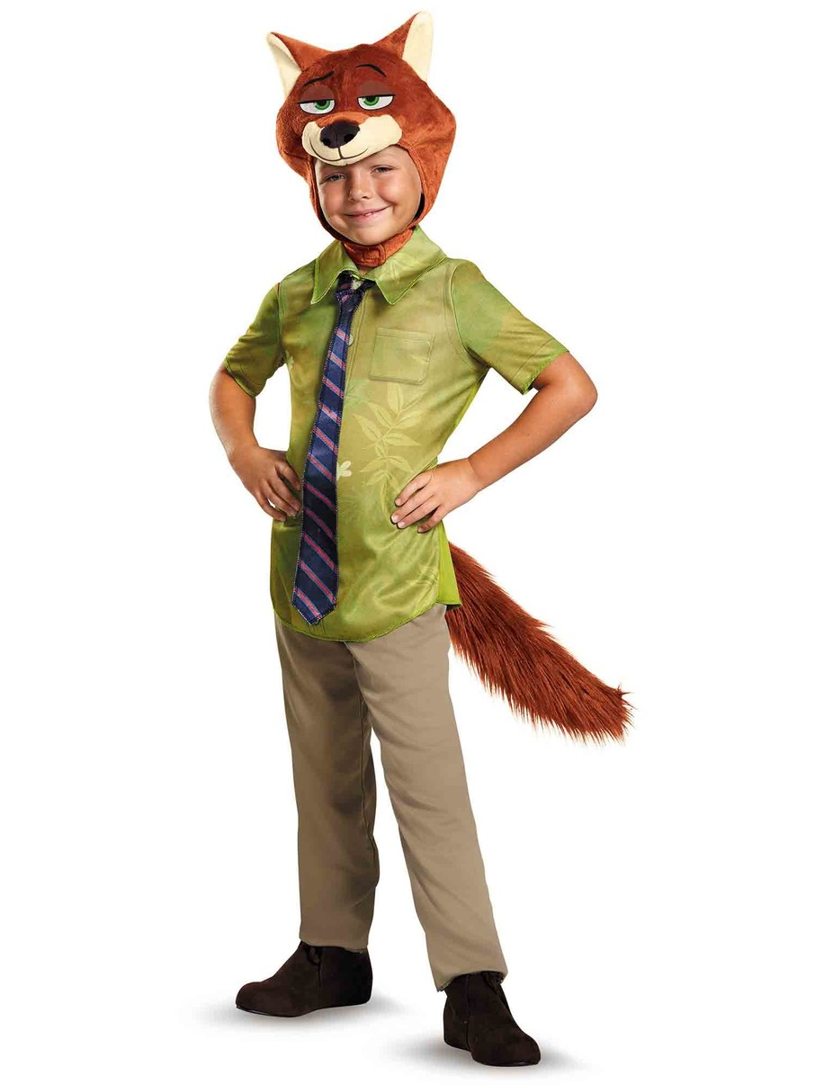 View larger image of Zootopia Boys Nick Wilde Classic Costume