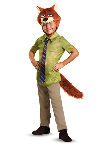 Zootopia Nick Wilde Classic Toddler Costume